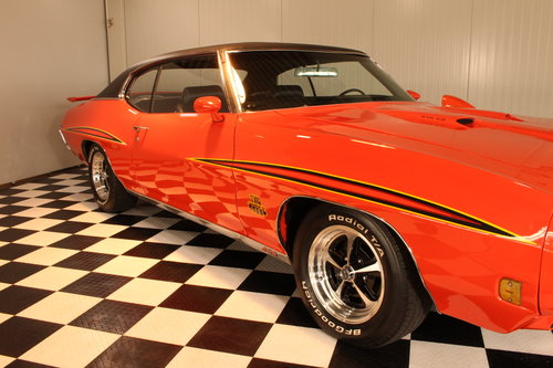 1970 GTO the judge 455 big bock tribute, restored For Sale (picture 2 of 6)