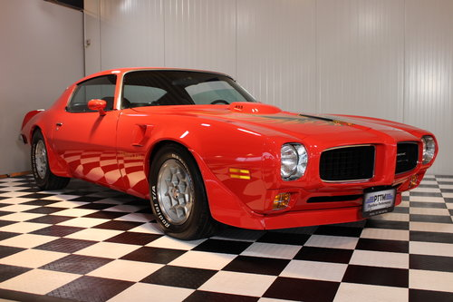 1973 Trans am 455 4 speed Restored & Numb.match. For Sale (picture 1 of 6)