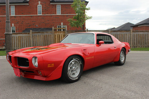 1973 Trans am 455 4 speed Restored & Numb.match. For Sale (picture 6 of 6)