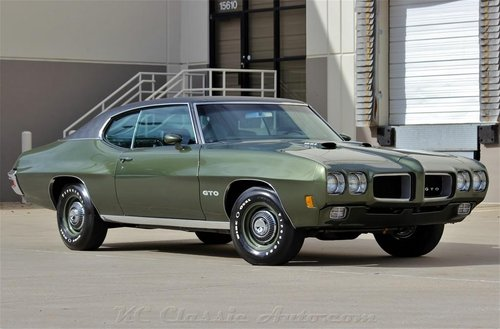1970 Pontiac GTO Ram Air IV REAL RAIV - PHS Docs Frame Off R For Sale (picture 1 of 6)