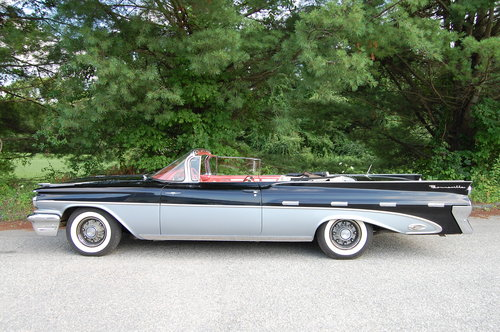 1959 Pontiac Bonneville Convertible Tri-Power,manual trans For Sale (picture 2 of 6)