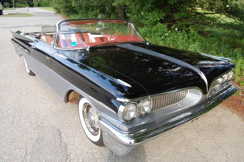 1959 Pontiac Bonneville Convertible Tri-Power,manual trans For Sale (picture 6 of 6)