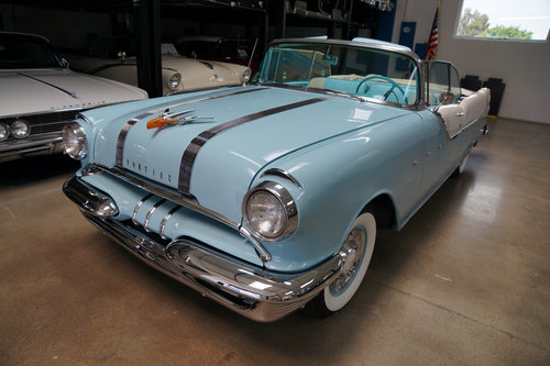 Orig California 1955 Pontiac Star Chief 287 V8 Convertible  SOLD (picture 1 of 6)