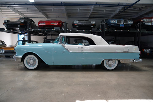 Orig California 1955 Pontiac Star Chief 287 V8 Convertible  SOLD (picture 2 of 6)