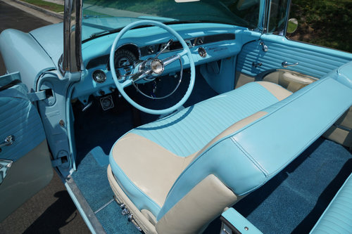 Orig California 1955 Pontiac Star Chief 287 V8 Convertible  SOLD (picture 5 of 6)
