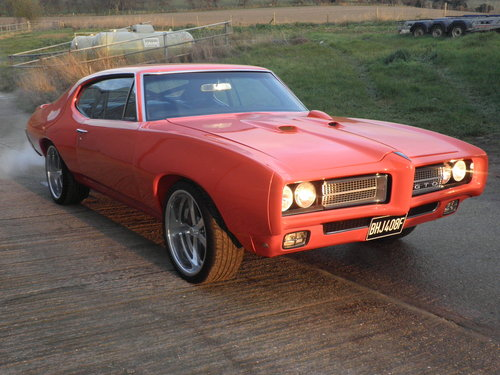 1968 Stunning 750HP Pontiac GTO Coupe For Sale (picture 1 of 6)