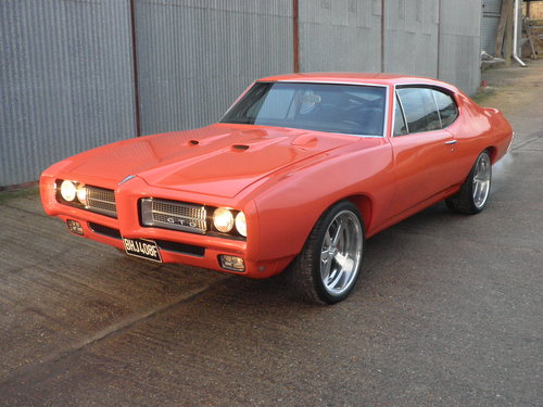 1968 Stunning 750HP Pontiac GTO Coupe For Sale (picture 2 of 6)