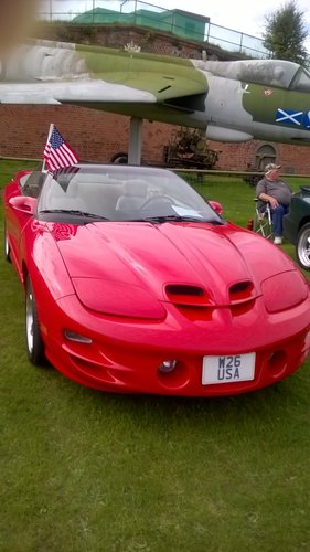 2001 Pontiac  Firebird Trans Am WS6 with W26 USA REG For Sale (picture 6 of 6)