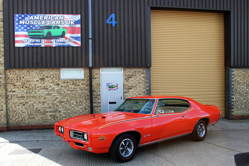 1969 Pontiac G.T.O Judge For Sale (picture 1 of 6)
