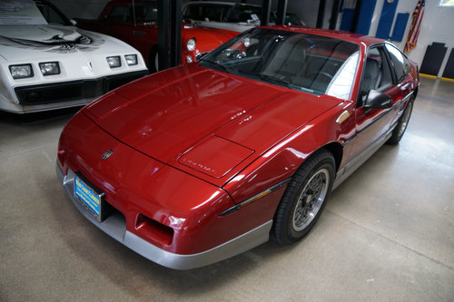 1987 Pontiac Fiero GT with 13K original miles SOLD (picture 1 of 6)