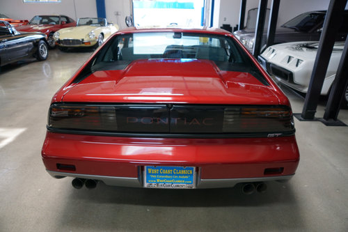 1987 Pontiac Fiero GT with 13K original miles SOLD (picture 4 of 6)