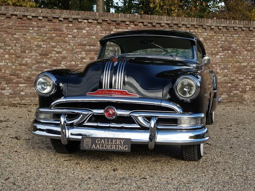 1953 Pontiac Chieftain Custom Deluxe Eight Catalina Hardtop Coupé For Sale (picture 5 of 6)