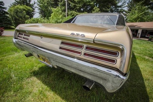 1967 Pontiac GTO Gold Package!!! For Sale (picture 6 of 6)