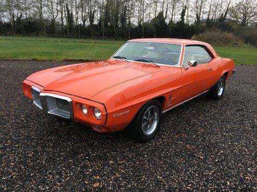 1969 Pontiac Firebird 350 V8 For Sale (picture 1 of 6)