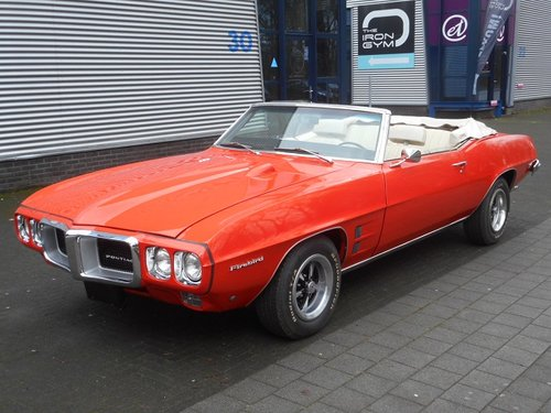 Picture of 1969 PONTIAC FIREBIRD V8 CONVERTIBLE For Sale