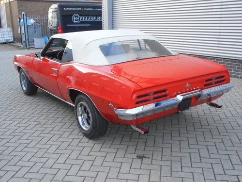 1969 PONTIAC FIREBIRD V8 CONVERTIBLE For Sale (picture 2 of 6)