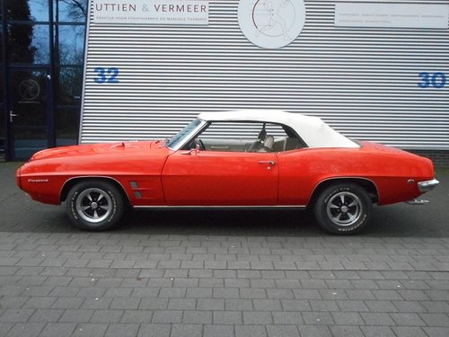 1969 PONTIAC FIREBIRD V8 CONVERTIBLE For Sale (picture 6 of 6)