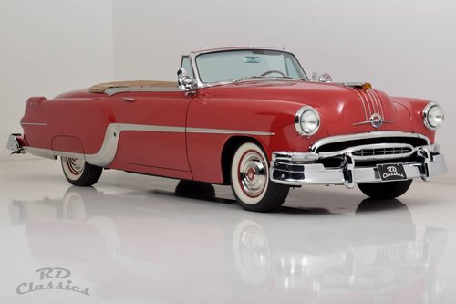 1954 Pontiac Star Chief Convertible For Sale (picture 1 of 6)