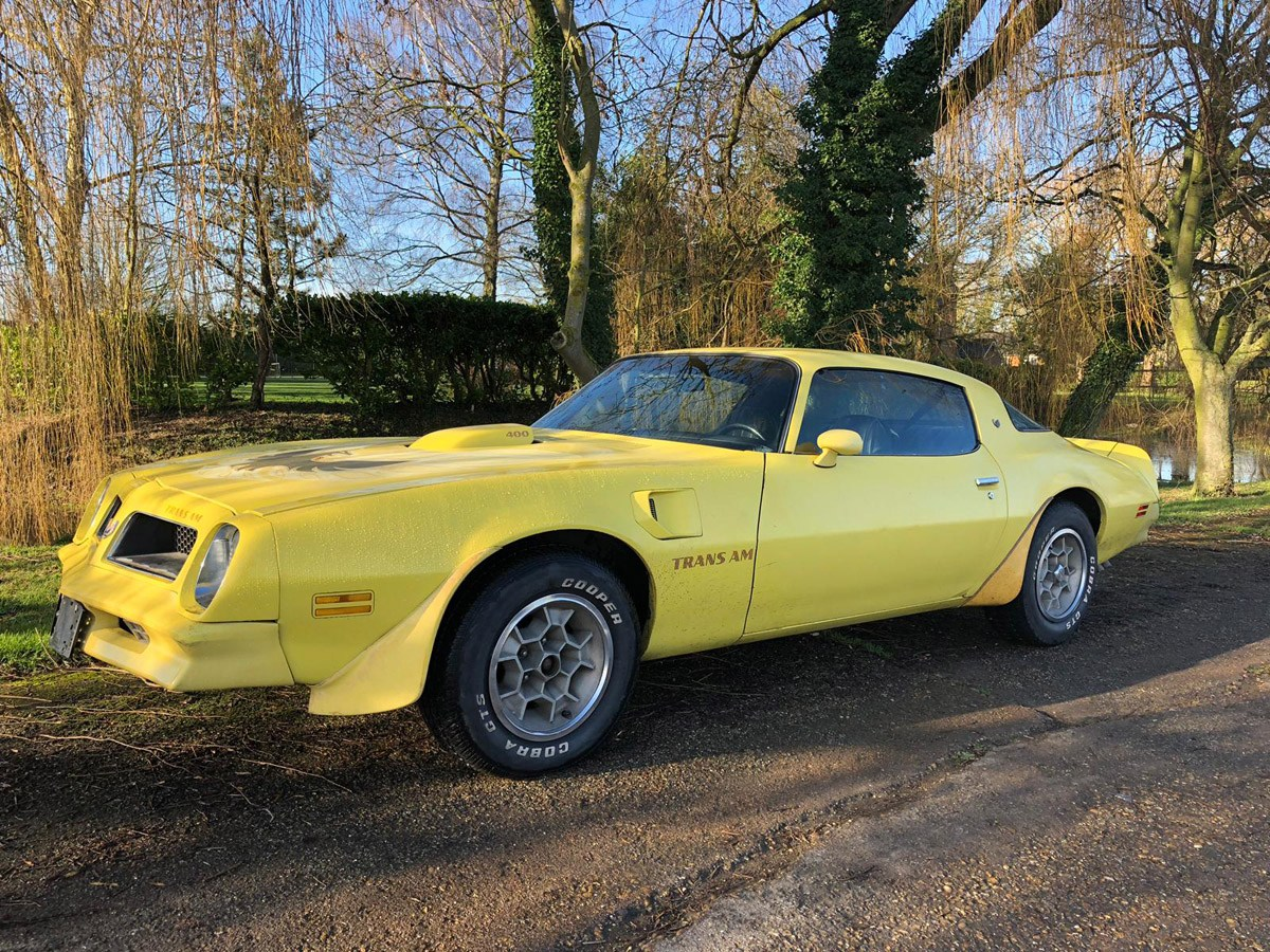 1976 Pontiac Trans AM: 16 Feb 2019 For Sale by Auction (picture 1 of 6)