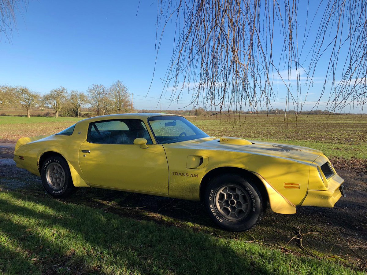1976 Pontiac Trans AM: 16 Feb 2019 For Sale by Auction (picture 4 of 6)