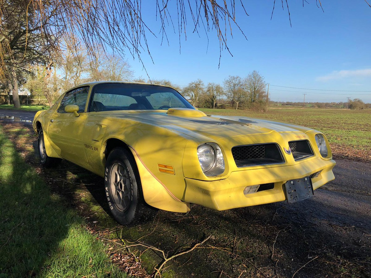 1976 Pontiac Trans AM: 16 Feb 2019 For Sale by Auction (picture 5 of 6)