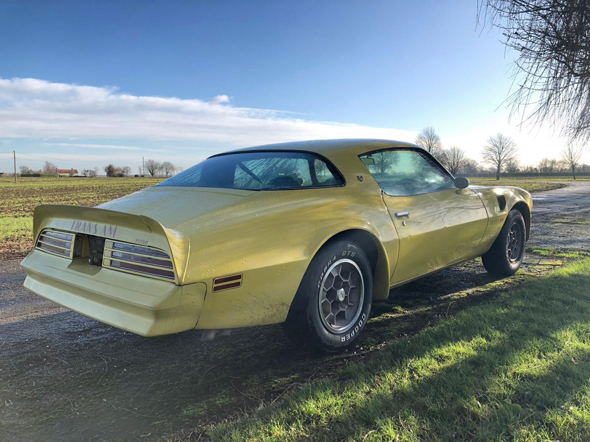 1976 Pontiac Trans AM: 16 Feb 2019 For Sale by Auction (picture 6 of 6)