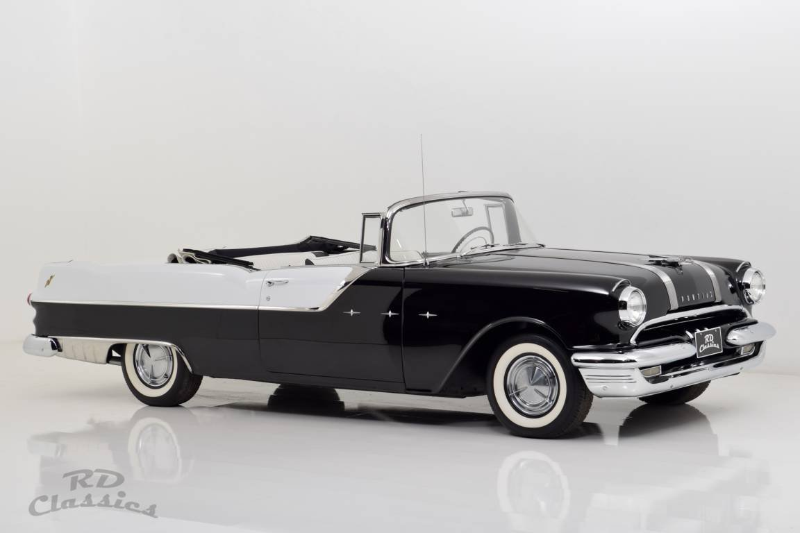 1955 Pontiac Star Chief Convertible For Sale (picture 1 of 6)