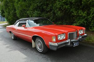 1972 Pontiac Catalina Convertible For Sale