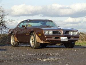 1977 Pontiac Firebird Trans Am SOLD