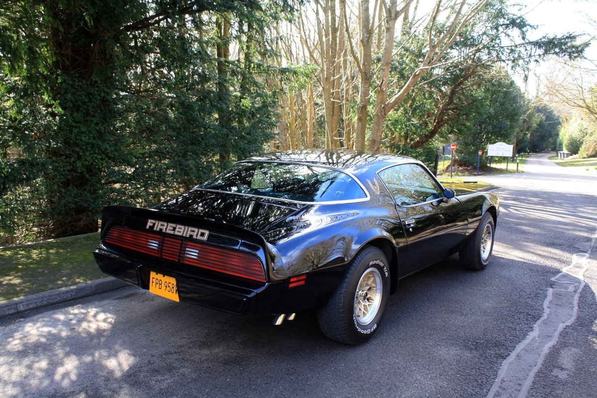 1979 Pontiac Firebird Esprit. Diamond Black. Trans Am Kit. SOLD (picture 2 of 6)