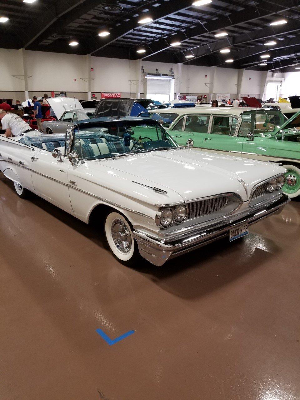 1959 Pontiac Bonneville Convertible For Sale (picture 1 of 6)
