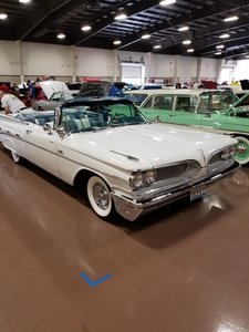 1959 Pontiac Bonneville Convertible For Sale