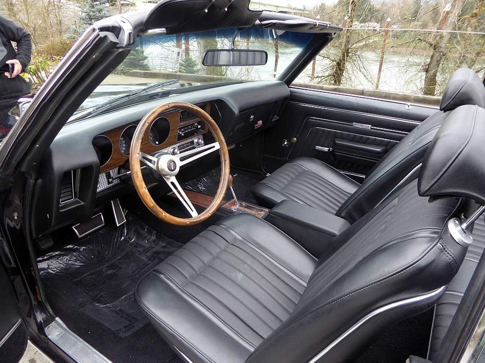 1970 Pontiac Lemans GTO  = Fast 455 auto All Black  $39.5k For Sale (picture 4 of 6)