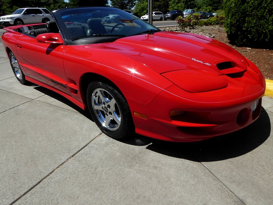 1989 Pontiac Formula Trans Am = 5.7 liter auto Red(~)Grey  For Sale (picture 2 of 6)