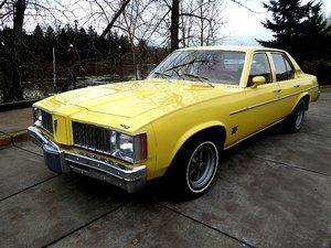1978 Pontiac PHEONIX 4 door sedan = Clean Yellow(~)Tan $8.9k