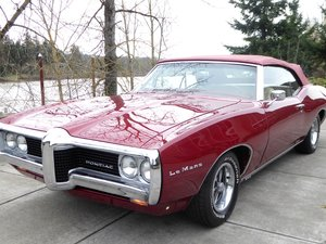 1969 Pontiac Lemans Convertible = 400 + 4 Speed Manual