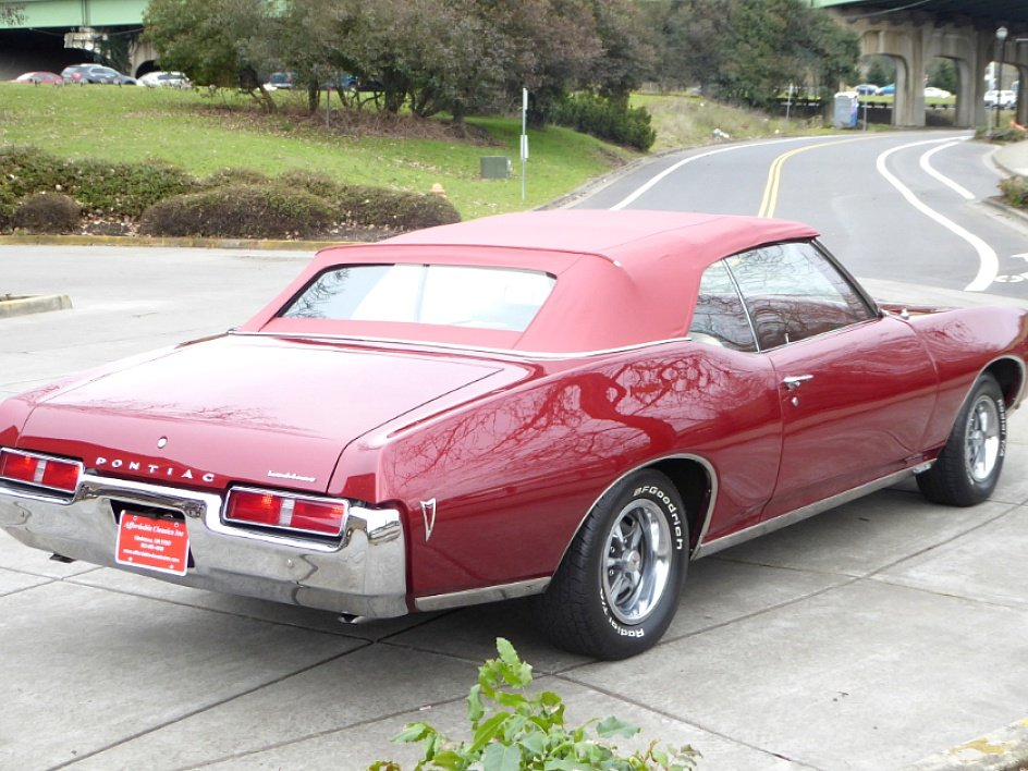 1969 Pontiac Lemans Convertible = 400 + 4 Speed Manual For Sale (picture 3 of 6)