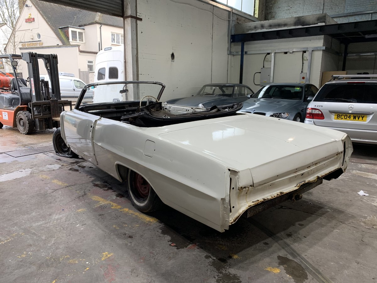 1964 Pontiac Parisienne Convertible Project Right Hand Drive SOLD (picture 3 of 12)