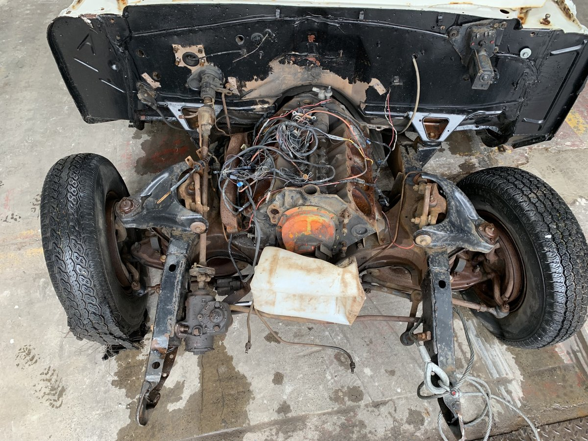 1964 Pontiac Parisienne Convertible Project Right Hand Drive SOLD (picture 5 of 12)