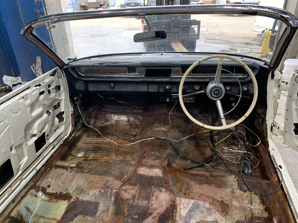 1964 Pontiac Parisienne Convertible Project Right Hand Drive SOLD (picture 7 of 12)