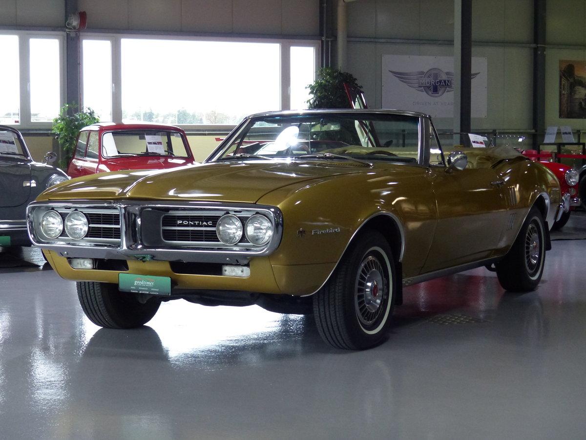 1967 Eines der ersten Firebird Cabrios der Welt, Originalzustand For Sale (picture 1 of 6)