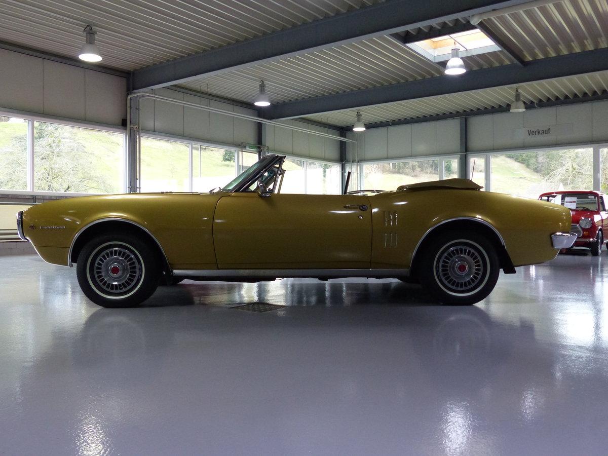 1967 Eines der ersten Firebird Cabrios der Welt, Originalzustand For Sale (picture 2 of 6)