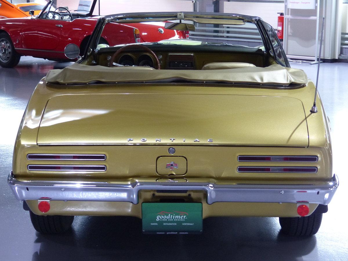 1967 Eines der ersten Firebird Cabrios der Welt, Originalzustand For Sale (picture 3 of 6)