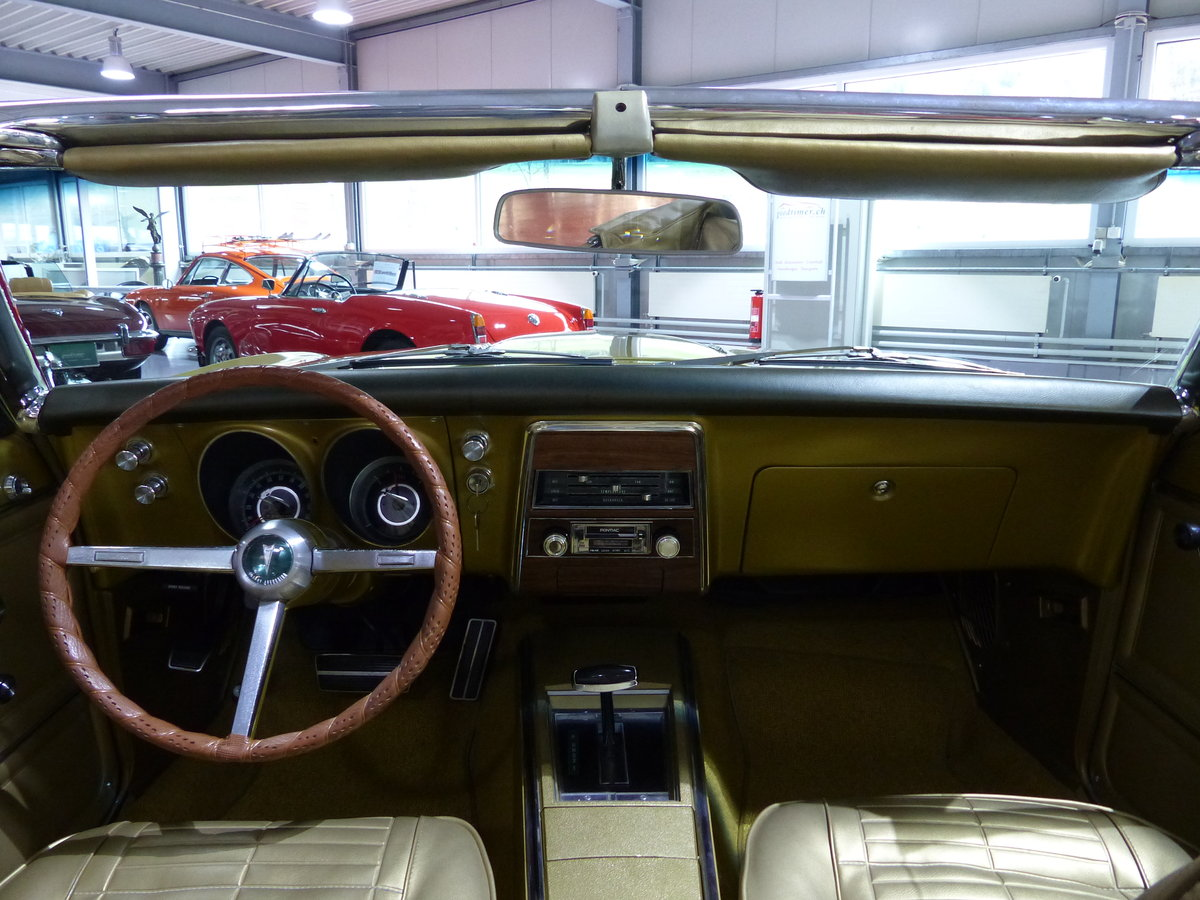 1967 Eines der ersten Firebird Cabrios der Welt, Originalzustand For Sale (picture 5 of 6)