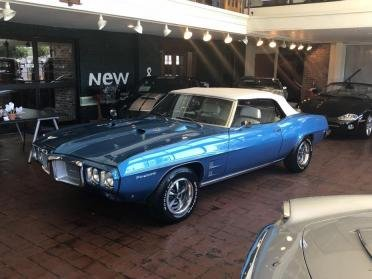 1969 Pontiac Firebird 400 Ram Air III Convertible = Manual  For Sale