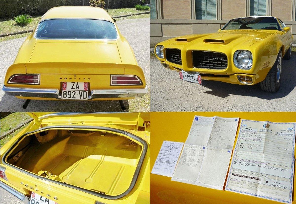 1973 Pontiac Firebird Formula 400 For Sale (picture 3 of 6)