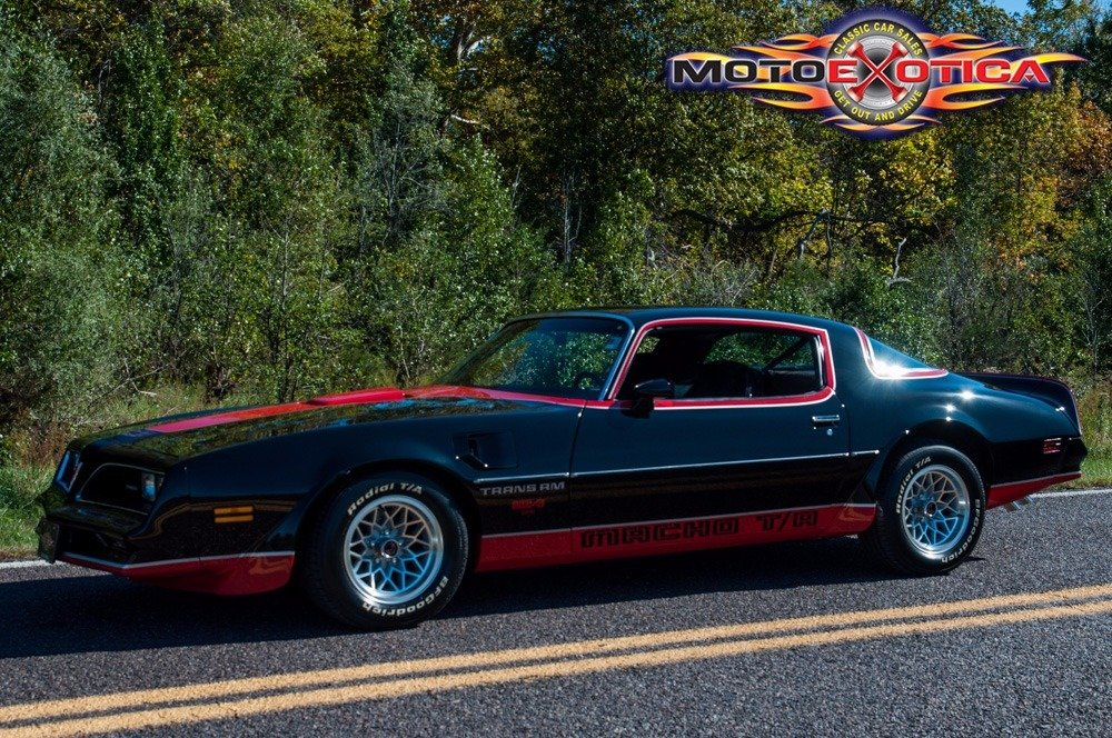 1978 Pontiac Macho Trans Am = Rare + 4 speed Manual $35.9k For Sale (picture 1 of 6)
