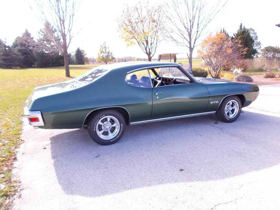 1970 Pontiac GTO Ram Air III (De Pere, WI) $60,000 For Sale (picture 3 of 6)