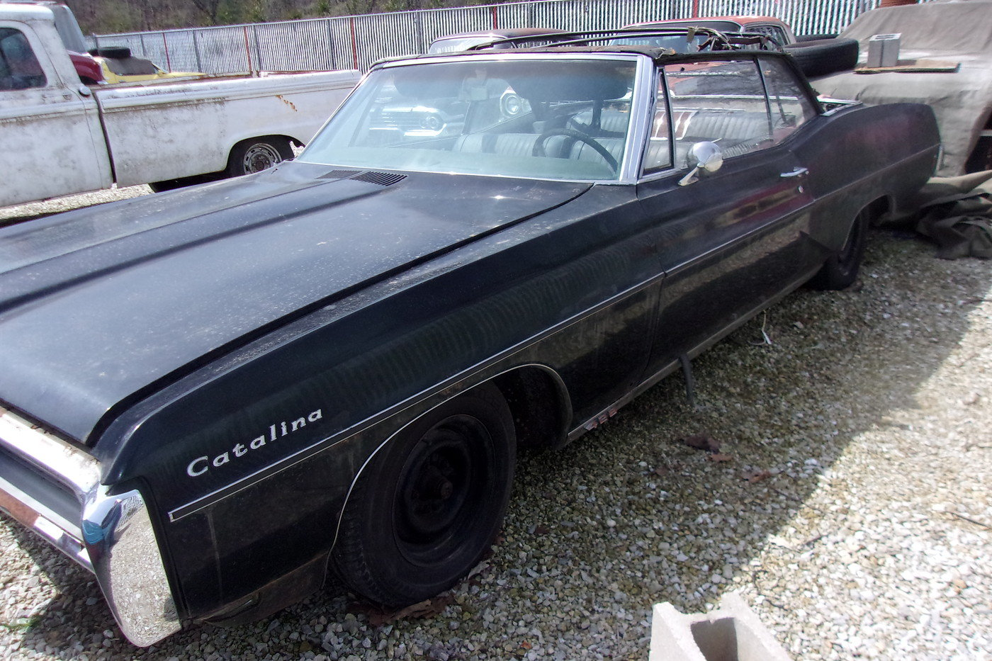 1968 Pontiac Catalina 428 Convertible with factory 4sp For Sale (picture 1 of 6)