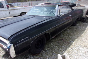 1968 Pontiac Catalina 428 Convertible with factory 4sp For Sale